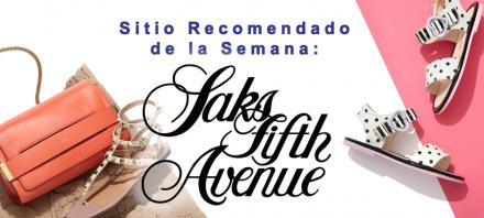 Sitio Recomendado de la Semana: Saks Fifth Avenue