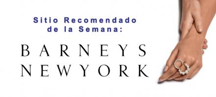 Sitio Recomendado de la Semana - Barneys New York